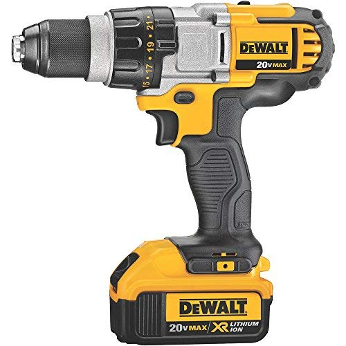 Black and Decker 18V BL Li-Ion Hammer Drill with Batteries and Kitbox (2 x 1.5 Ah/55Nm)