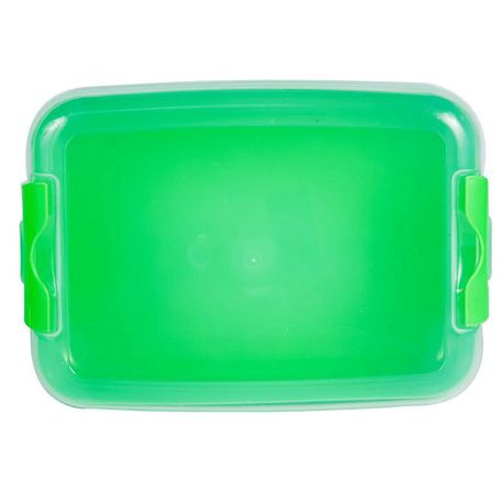 Lumoss - Large Lunch Box - Neon Green