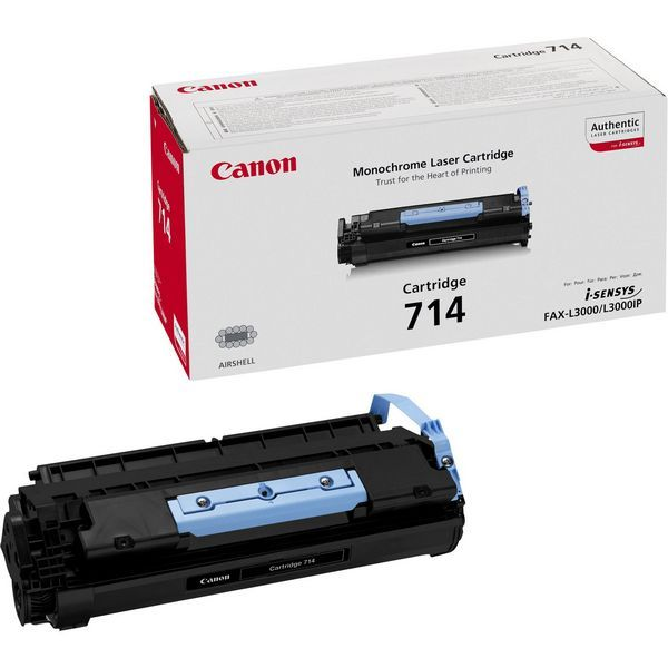 Canon 714 Black Laser Toner Cartridge