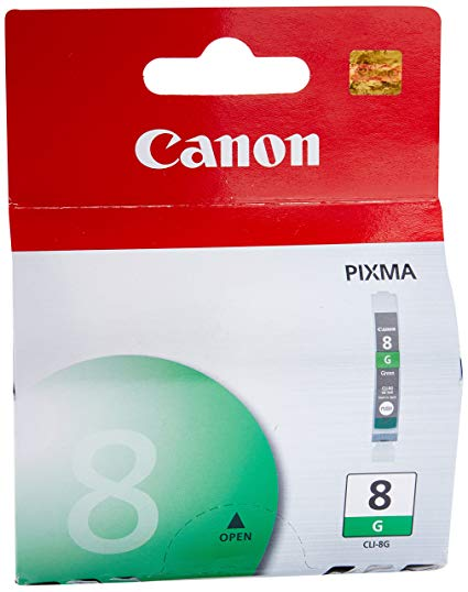 Canon CLI-8 Green Single Ink Cartridge
