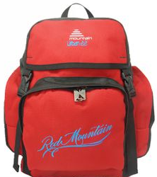 Red Mountain Urban 22 School Backpack - Black