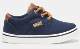 Soviet Kids Boston - Navy and Brown