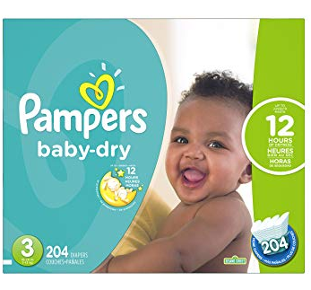 Pampers Baby Dry (3-12 Months)