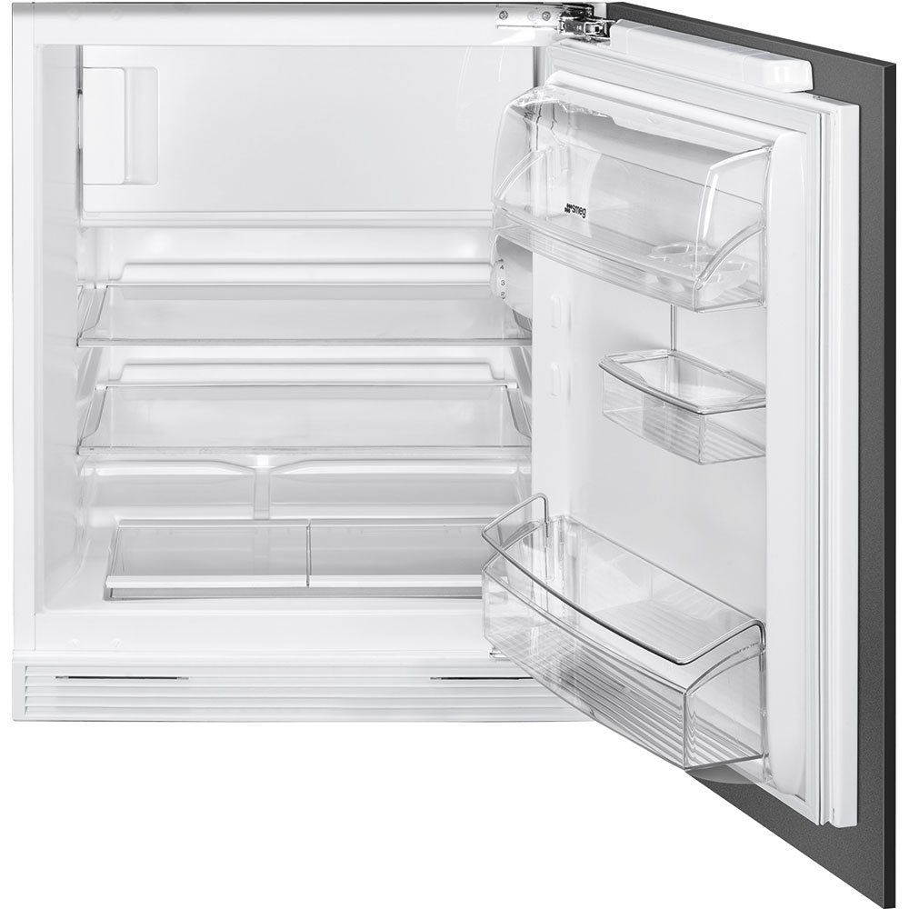 Smeg UD7122CSP: 60cm Integrated Undercounter fridge with ice box