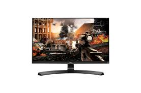 "LG 27"" 4K UHD IPS LED Monitor with Game Mode & Black Stabilizer: 27UD68-W"