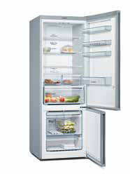 Bosch Serie 6 Top Freezer with Indoor Chilled Water: KDD74AL204