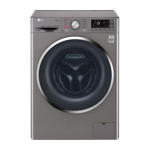 LG 9kg Stone Silver Front Loader Washing Machine: FH4U2VYP2S