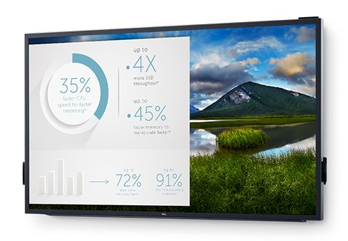 Dell 55 4K Interactive Touch Monitor: C5518QT
