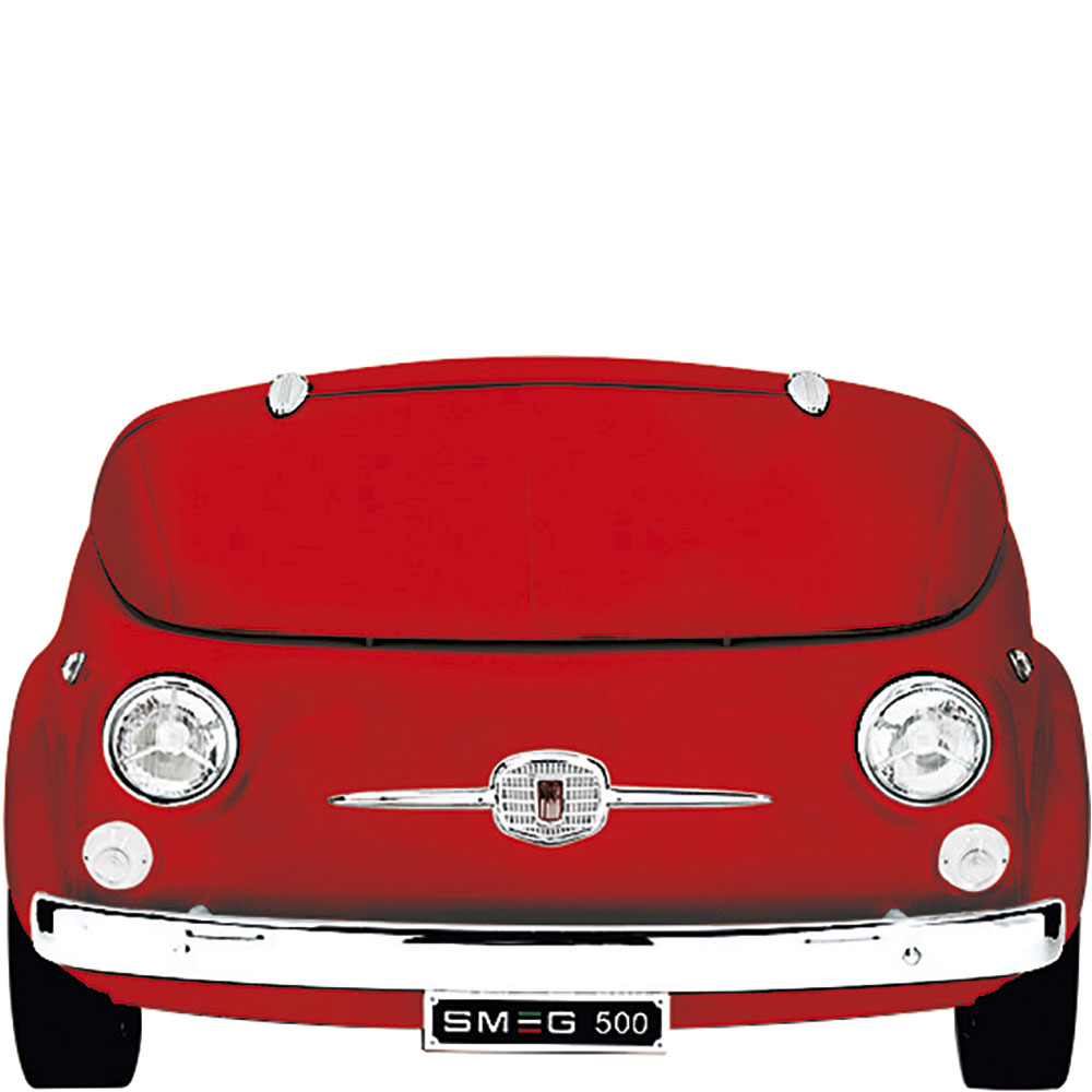 Smeg: SMEG500B Fiat Design Collector's Edition in Fiery Red