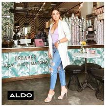 Aldo : Women's Lookbook (27 Jun - 05 Aug 2018)