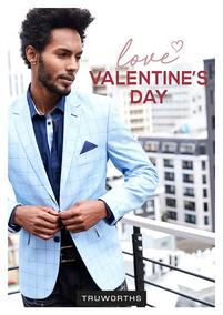 Truworths : Valentine's Day Men's (01 Feb - 01 Mar 2018), page 1
