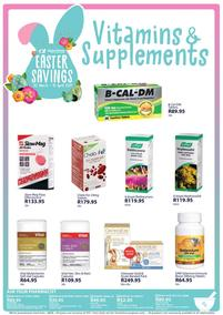 Alpha Pharm : Vitamins & Supplements (30 March - 18 April 2021)