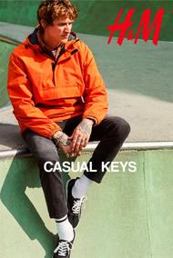 H&M : Casual Key (10 Sep 2019 - While Stocks Last)