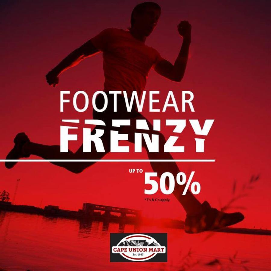 bdd7961375 Cape Union Mart : Footwear Frenzy (02 Oct - 14 Oct 2018) — www ...