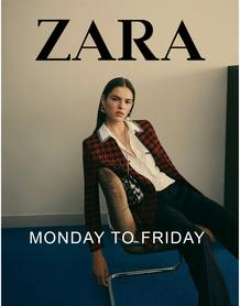Zara : Monday To Friday (21 Sep - 25 Nov 2018)