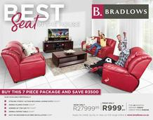 Bradlows : Best Seat In The House (18 Jun - 15 Jul 2018)