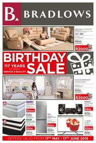 Bradlows : Birthday Sale (17 May - 17 Jun 2018)