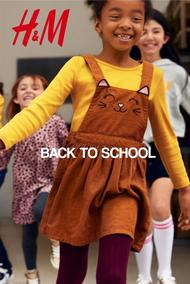 H&M : Back To School (10 Sep 2019 - While Stocks Last)
