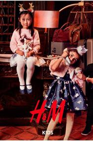 H&M : Party Kids (26 Nov - 28 Jan 2019)