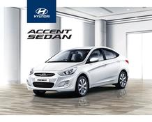 Hyundai : Accent Sedan (Request Valid Dates From Retailer)