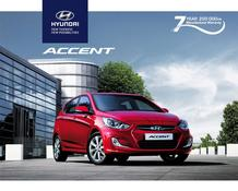 Hyundai : Accent (18 May - 31 Dec 2018)