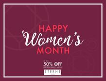 Sterns : Hppy Women's Month (20 Aug - 31 Aug 2018)