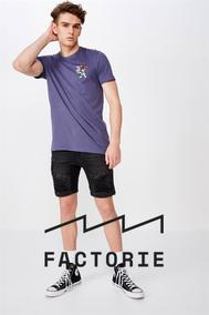 Factorie : Men's Collection (15 Sep 2019 - While Stocks Last)