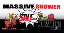 Bathroom Bizarre : Massive Shower Sale (19 Mar - 31 Mar 2019)