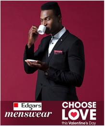 Edgars : Menswear (06 Feb - 18 Mar 2018), page 1