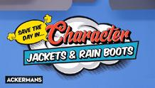 Ackermans : Jackets And Rain Boots (04 Mar - 07 Apr 2019)