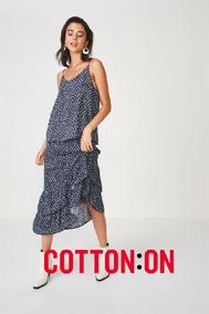Cotton On : Women's New Arrivals (24 Mar - 30 Apr 2019)
