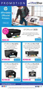 First Shop : HP Printer Promo (31 Jan - 7 Feb 2019)