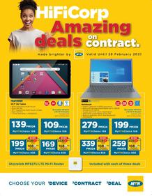 HiFi Corp : MTN Catalogue (19 February - 28 February 2021)