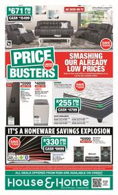 House & Home : Price Busters (26 August - 06 September 2020)