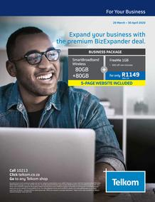 Telkom : Business (20 March - 30 April 2020)