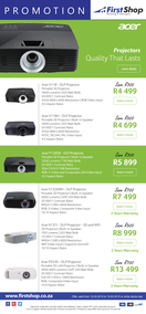 First Shop : Acer Promo (12 Mar - 19 Mar 2019)