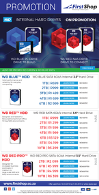 First Shop : WD Internal Hard Drive Promo (14 Mar - 21 Mar 2019)