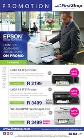 First Shop : Epson (10 May - 31 May 2018)