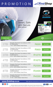 First Shop : Seagate SkyHawk Promotion (22 May - 31 May 2018)