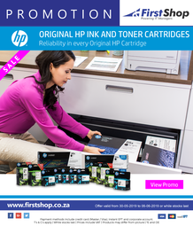 First Shop : HP Ink Promo (30 May - 6 June 2019)