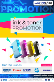 First Shop : Ink & Toner Promotion (12 May - 19 May 2020)