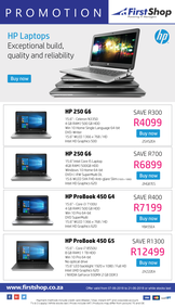 First Shop : HP Laptop Promotion (7 June - 21 June 2018)