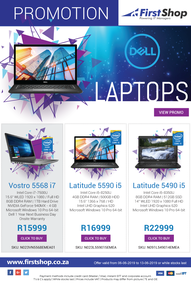 First Shop : Dell Promotion (6 June - 13 June 2019)