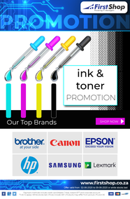 First Shop : Ink & Toner Promotion (2 June - 9 June 2020)