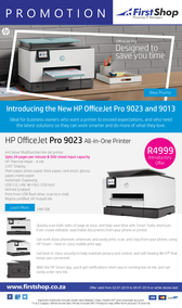 First Shop : HP Printer Promo (2 July - 9 July 2019)