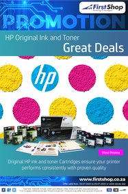 First Shop : HP Ink And Toner Promotion (2 July - 9 July 2020)