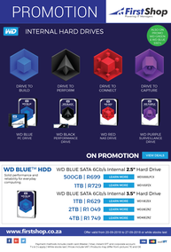 First Shop : Western Digital Promotion (20 Sep - 27 Sep 2018)