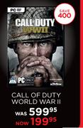 Call Of Duty World War II For PC