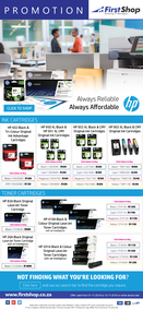 First Shop : HP Printer Promo (1 Nov - 15 Nov 2018)