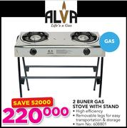 2 plate gas stove for sale at game
